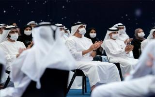"""محمد بن زايد: فريق """"مسبار الأمل"""" نموذج مشرف للشباب الإماراتي thumbnail"""