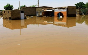الصورة: مصر تعلن تضامنها مع السودان بعد انهيار سد بوط بولاية النيل الأزرق