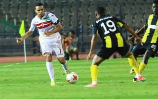 """الصورة: لاعب الزمالك يمزق عقده غضباً من """"إدارة مرتضى منصور""""!"""