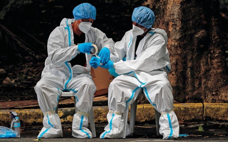 الصورة: منظمة الصحة العالمية تدعو مجدداً إلى الاستعداد لجائحة «طويلة الأمد»
