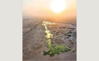 الصورة: بالفيديو.. لماذا تعتبر محمية المرموم معجزة صحراء دبي؟