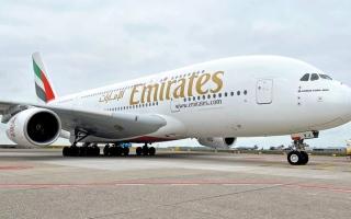 الصورة: «طيران الإمارات» تشغل «العملاقة» إلى 5 محطات
