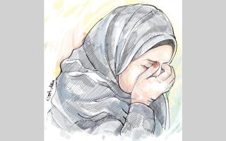 الصورة: 83.7 ألف درهم تنقذ «أم ياسين» من تليف المعدة وتآكل جدار البطن