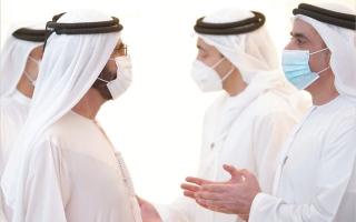 الصورة: محمد بن راشد: مواجهة التحديـــات سمة أصيلة في الشخصية الإماراتية