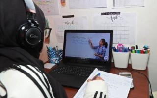 الصورة: التعليم عن بعد في جميع المدارس الخاصة بأبوظبي العام الدراسي المقبل