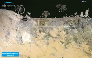 محمد بن راشد للفضاء» يطلق صورة فضائية فسيفسائية «موزاييك» بدقة 0.7 متر« thumbnail