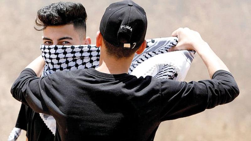 المقاومون الفلسطينيون لن يقبلوا بضم أراضٍ من الضفة الغربية.   أرشيفية