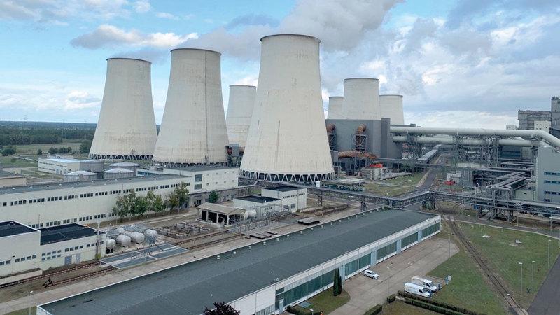 الصناعة الألمانية لاتزال تعتمد على الطاقة المتولدة من الفحم الملوث للبيئة.   أرشيفية