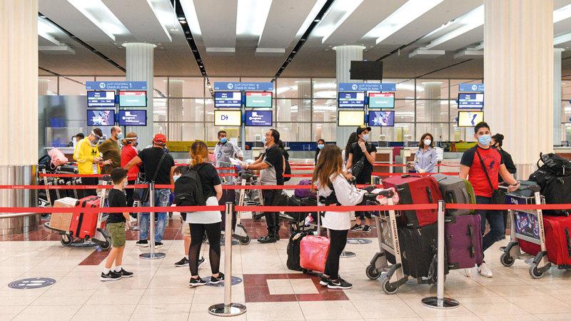 السياحة الخارجية تخضع للعديد من الاعتبارات في ظل الظروف الحالية.   تصوير: أشوك فيرما
