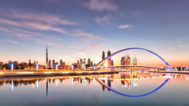 جسر التسامح في دبي. أرشيفية