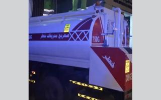 شرطة أبوظبي تضبط 750 كيلوغراماً من التبغ الممنوع في صهريج thumbnail