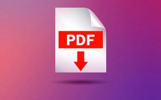 الصورة: التعرف إلى معاني الكلمات في ملفات بتنسيق «PDF»