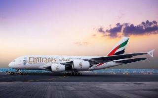 الصورة: «طيران الإمارات» تعيد تشغيل «A380» إلى تورنتو 16 الجاري