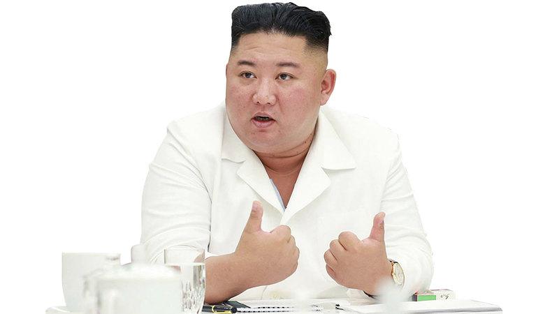 الشك يحكم تحركات الزعيم الكوري الشمالي.  أ.ف.ب