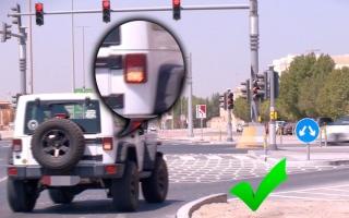 الصورة: مخالفة 96 ألف سائق لعدم استعمال «الإشارات»