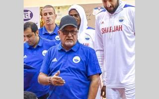 الصورة: عبدالحميد إبراهيم يبحث عن النجمة  56 في عالم كرة السلة