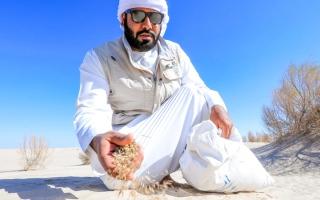 الصورة: أبوظبي تحافظ على مراعيها الطبيعية بـ 9 محظورات