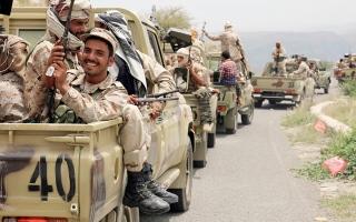 الصورة: الجيش اليمني يُسقط مسيّرة حوثية في مأرب.. والميليشيات تصعّد