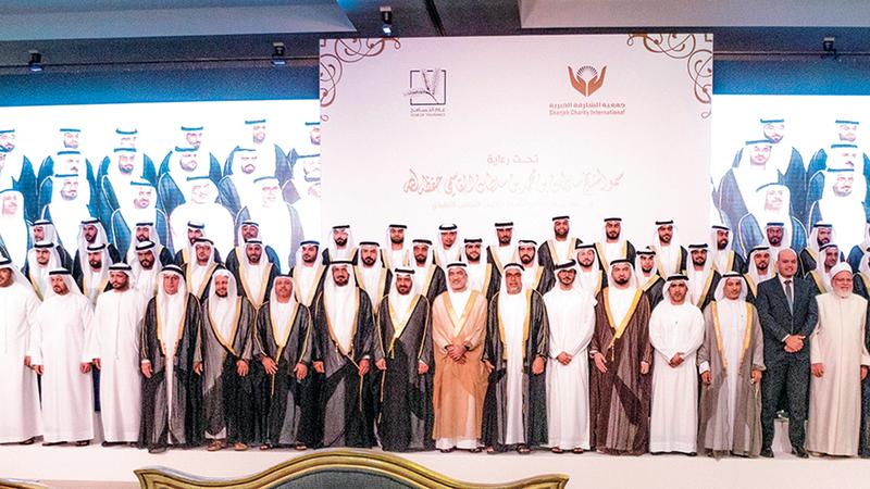 جمعية الشارقة الخيرية نظمت 7 أعراس جماعية.من المصدر