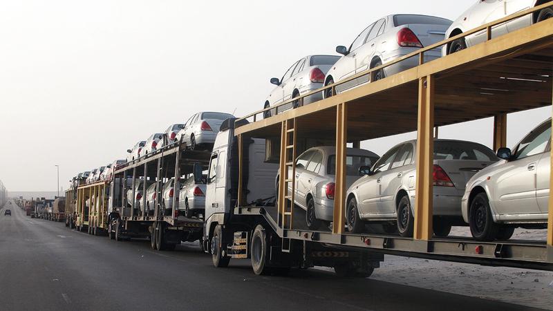 مبيعات السيارات شهدت تراجعاً نتيجة التدابير الاحترازية الخاصة بفيروس «كورونا» المستجد. الإمارات اليوم
