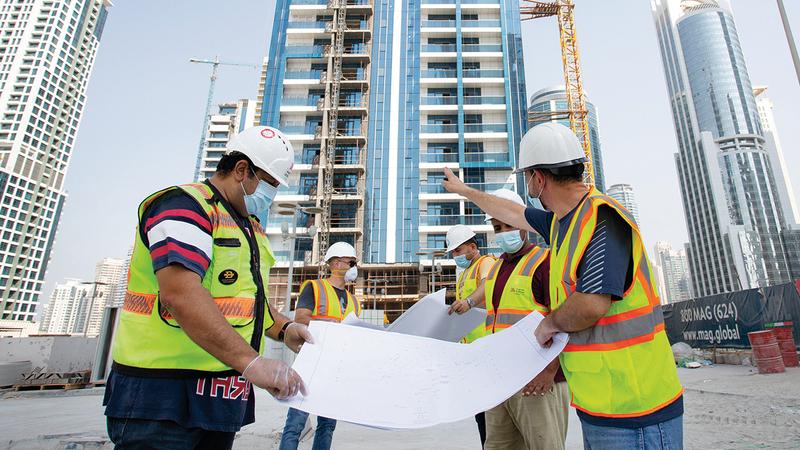 السوق العقارية في دبي تتضمن فرصاً استثمارية كبيرة حالياً.  من المصدر