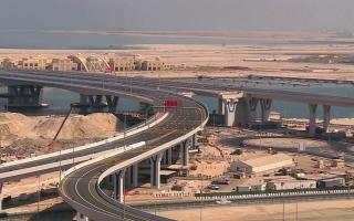 الصورة: افتتاح 5 جسور جديدة تؤدي إلى جزر ديرة