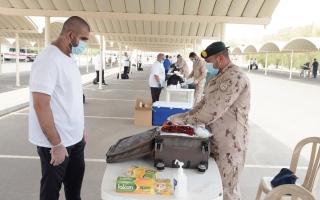 الصورة: مراكز التدريب تستقبل الدفعة الـ 14 من مجنّدي الخدمة الوطنية
