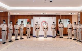 الصورة: شرطة أبوظبي تطلق ميثاقاً لخدمة المتعاملين وإسعادهم