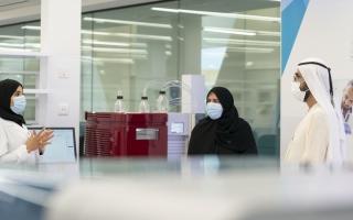 الصورة: محمد بن راشد: دعم الأبحاث ضمانة لاستدامة التنمية الاقتصادية والاجتماعية والبشرية