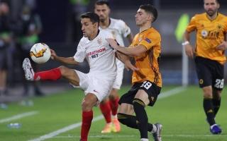 الصورة: إشبيلية يضرب موعداً مع مان يونايتد في نصف نهائي الدوري الأوروبي