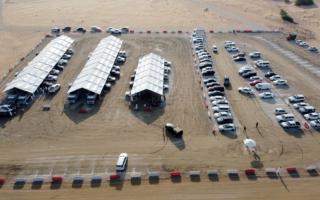 الصورة: ضبط 34 قصاباً متجوّلاً في الشارقة واتخاذ الإجراءات اللازمة بحقهم