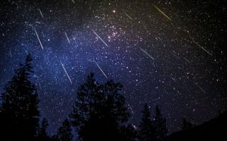 الصورة: زخة من شهب البرشاويات يتوقع رؤيتها في السماء ليلة الأربعاء