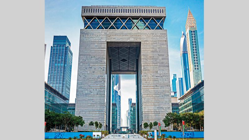 مركز دبي المالي العالمي يسعى إلى قيادة مستقبل القطاع المالي.  من المصدر