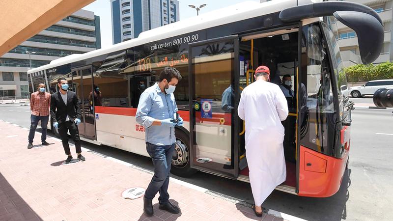 المنصة أسهمت في تطوير العمليات التشغيلية للحافلات.  من المصدر