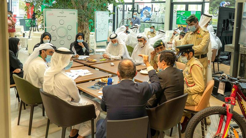 الاجتماع أوصى بتشكيل فريق عمل لتنفيذ المبادرة. ■من المصدر