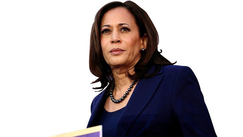 كامالا هاريس تشغل منصب عضو مجلس الشيوخ منذ عام 2017.  من المصدر
