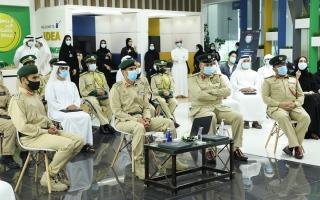 الصورة: جينوم عالمي ومرشد طائر و«ابتكار البصمة» في خلوة شرطة دبي