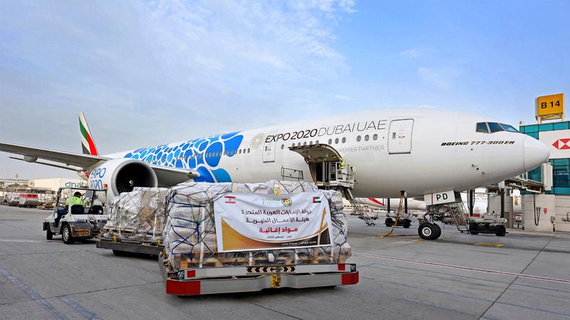 توفر «طيران الإمارات» الفرصة أمام الناس في جميع أنحاء العالم للتبرع نقداً أو بـ«أميال سكاي واردز».  من المصدر