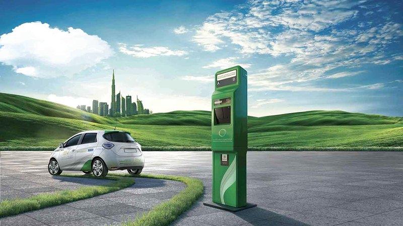 تركيب 17 محطة شاحن أخضر في «إكسبو» يأتي ضمن جهود الهيئة لتحقيق مبادرة (دبي الذكية).    من المصدر