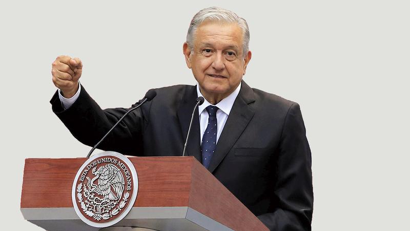 رئيس المكسيك يحذو حذو ترامب وبولسونارو.  أرشيفية