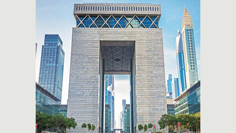 «دبي المالي العالمي» يسعى إلى ترسيخ مكانته مركزاً مستداماً للخدمات المالية.  من المصدر