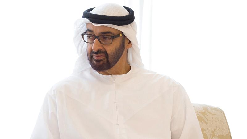 محمد بن زايد: «مجتمع دولة الإمارات سيبقى بخير طالما فيه مثل هذه النماذج المخلصة».
