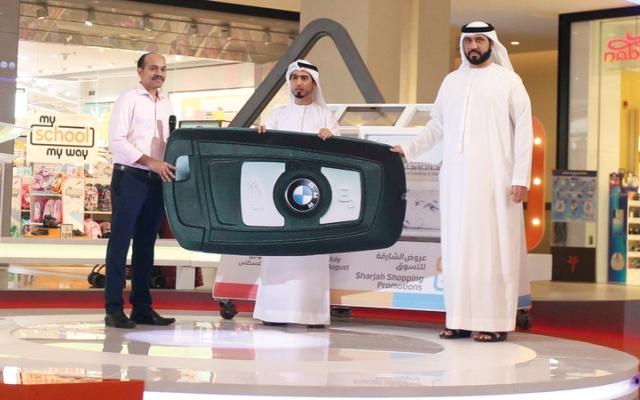 الصورة: 5 سيارات «BMW».. وفائزون جدد في سحوبات «الشارقة للتسوق»