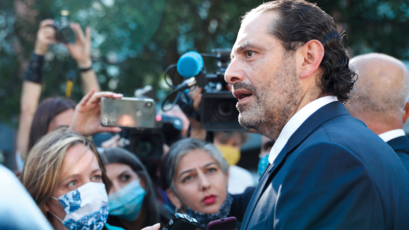 الحريري: قرار المحكمة إدانة متهم من أصل 4 أظهر أنها «غير مسيسة». أ.ف.ب