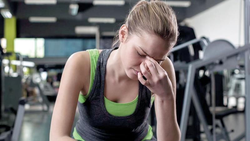 ينبغي مواءمة التمارين مع القدرات الخاصة. أرشيفية