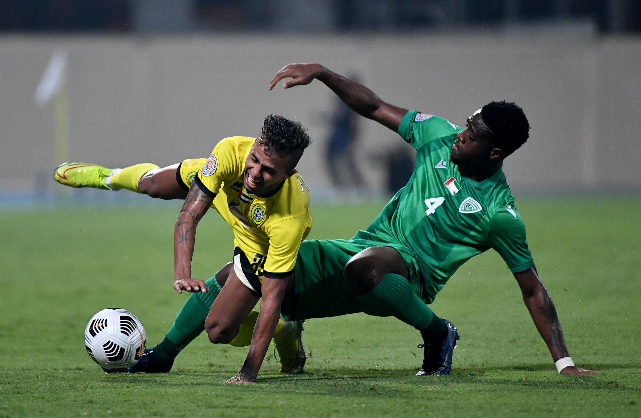 من المباراة الودية اليوم. تصوير: أسامة أبوغانم