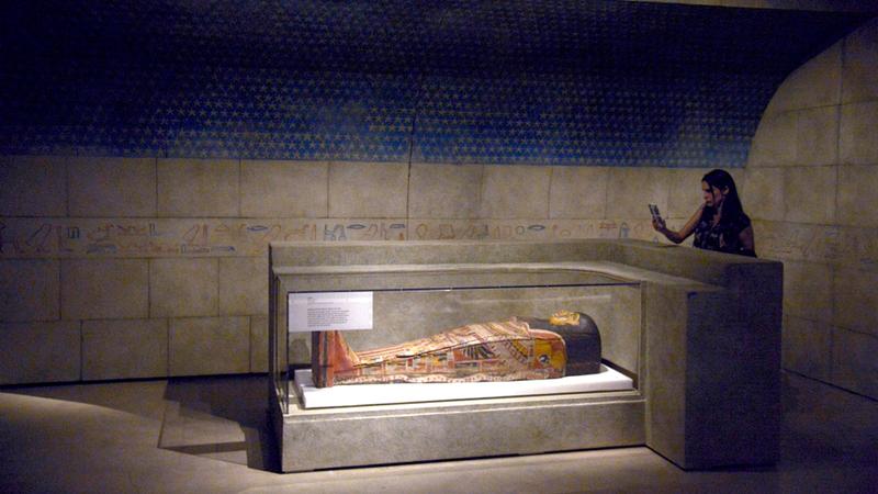 المصريون القدماء حنّطوا البشر.. والحيوانات أيضاً.  أرشيفية