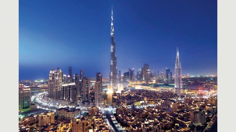 دبي الثالثة عالمياً بين أفضل المدن بالنسبة لعدد المشروعات التي تم استقطابها.   أرشيفية