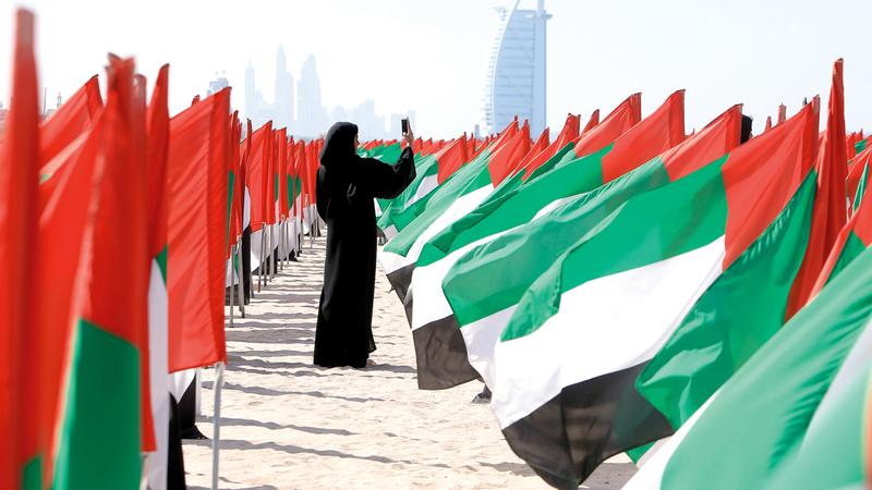 وسط ظروف استثنائية، يأتي يوم المرأة الإماراتية ليضيف صفحات جديدة من البطولة والإنجازات لابنة الإمارات. الإمارات اليوم