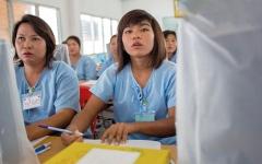 الصورة: السجون في جنوب شرق آسيا تَعُج بالنساء